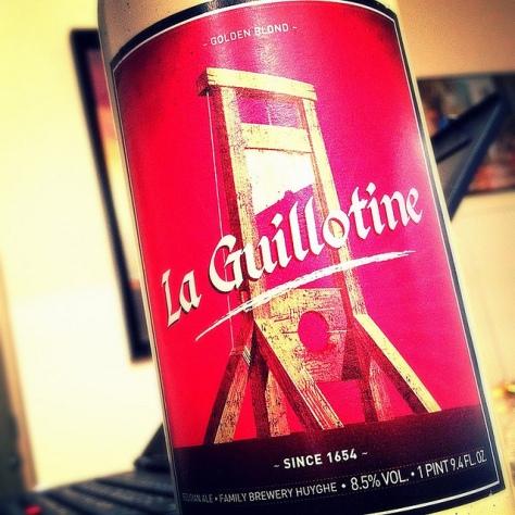 Обзор пива. Huyghe La Guillotine.