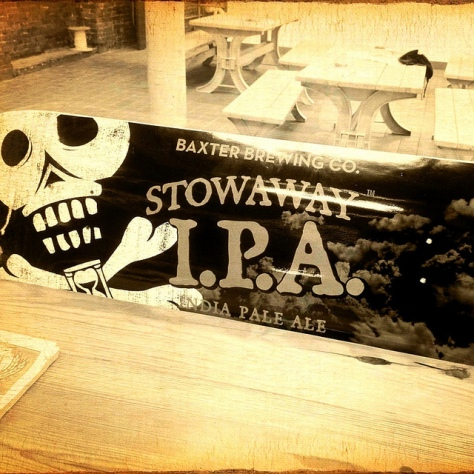 Крафтовая пивоварня. Baxter Brewery.