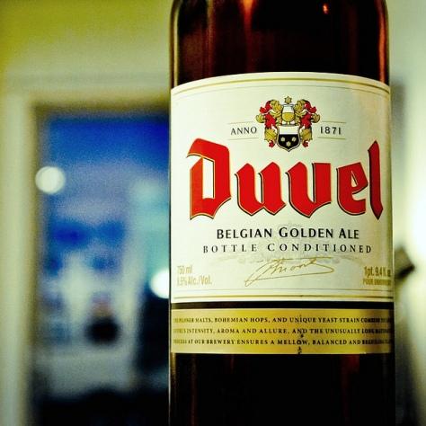 Обзор пива. Duvel Belgian Golden Ale.