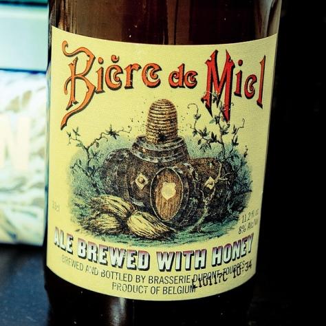 Обзор пива. Dupont Bière De Miel Biologique.