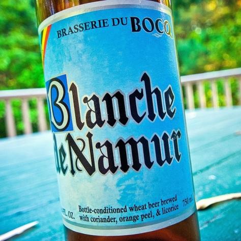 Обзор пива. Du Bocq Blanche De Namur.