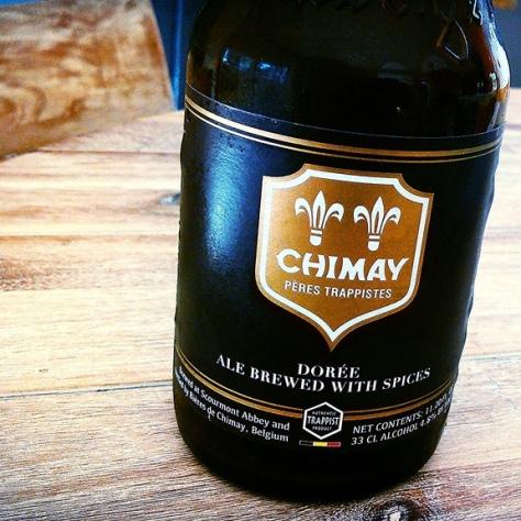Обзор пива. Chimay Dorée.