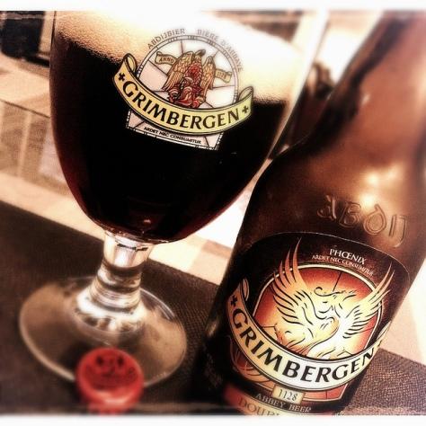 Обзор пива. Grimbergen Dubbel.
