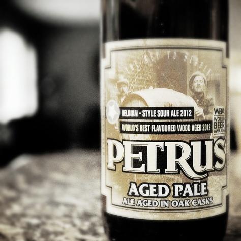 Обзор пива. Bavik Petrus Aged Pale Ale.