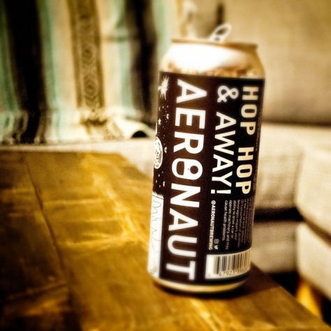 Обзор пива. Aeronaut Hop Hop And Away.