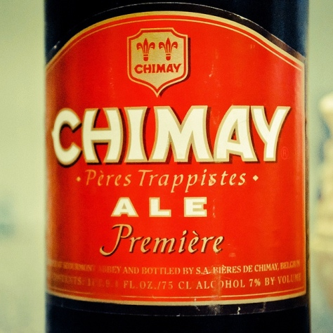 Обзор пива. Chimay Première.