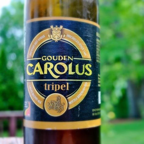 Обзор пива. Gouden Carolus Tripel.