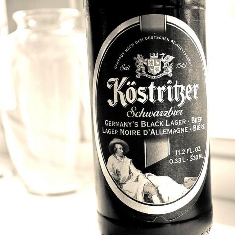 Обзор пива. Köstritzer Schwarzbier.