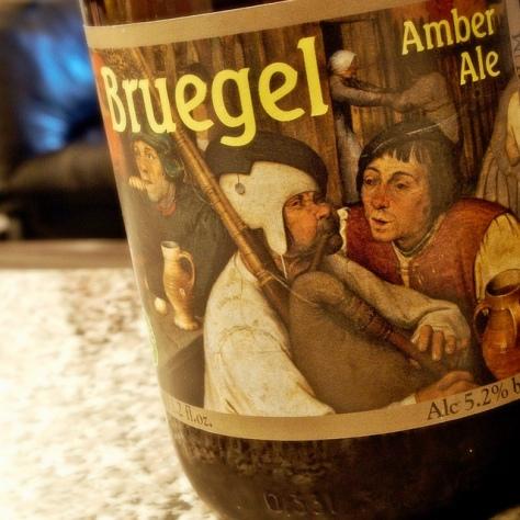 Обзор пива. Steenberge Bruegel Amber Ale.