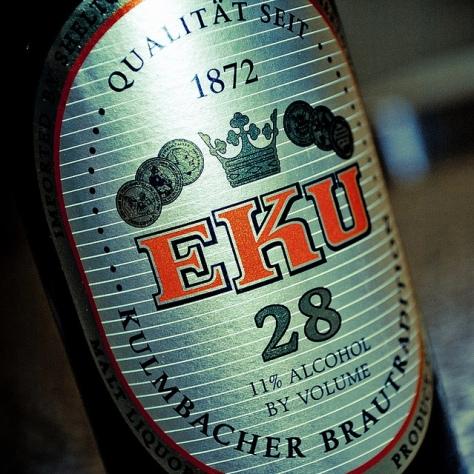 Обзор пива. Kulmbacher EKU 28.