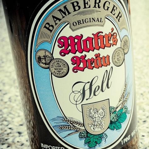 Обзор пива. Mahr's Brau Hell.