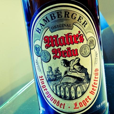 Обзор пива. Mahr's Brau Ungespundet-hefetrüb.