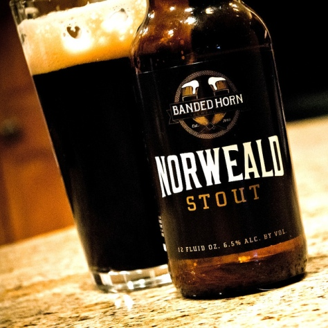 Обзор пива. Banded Horn Norweald Stout.