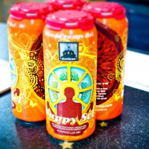 Обзор пива. Slumbrew Happy Sol.
