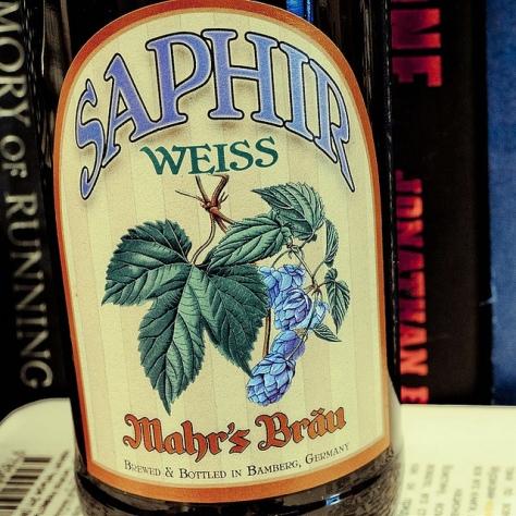 Обзор пива. Mahr's Brau Saphir Weiss.