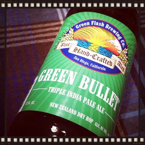 Обзор пива. Green Flash Green Bullet.