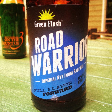 Обзор пива. Green Flash Road Warrior.