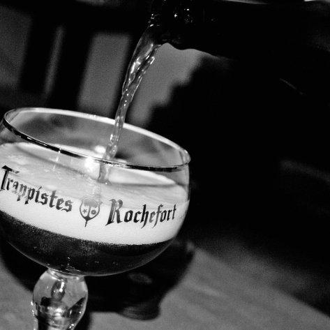 Правильное наливание пива.