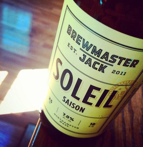 Сайзон. Saison. Brewmaster Jack Soleil. Обзор пива.