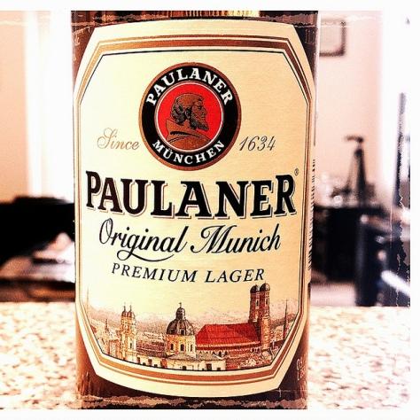 Обзор пива. Paulaner Original Münchner.