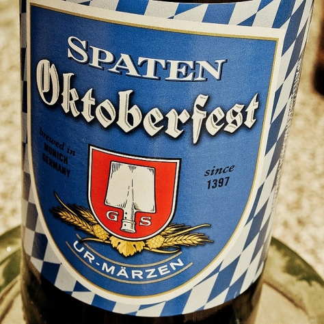 Мерцен. Märzen. Spaten Oktoberfestbier Ur-Märzen.