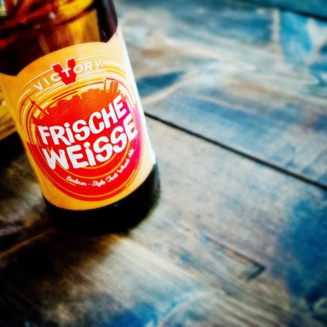 Обзор пива. Victory Frische Weisse.
