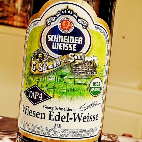 Обзор пива. Schneider Weisse Edel-Weisse Tap 4.