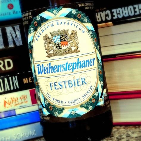 Обзор пива. Weihenstephaner Festbier.