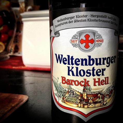Обзор пива. Weltenburger Kloster Barock-Hell.
