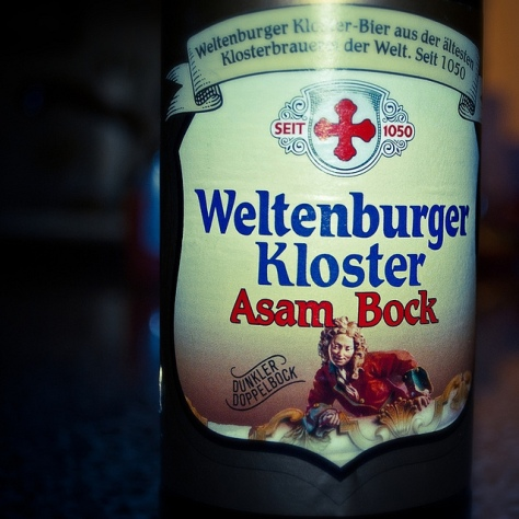 Обзор пива. Weltenburger Kloster Asam-Bock.