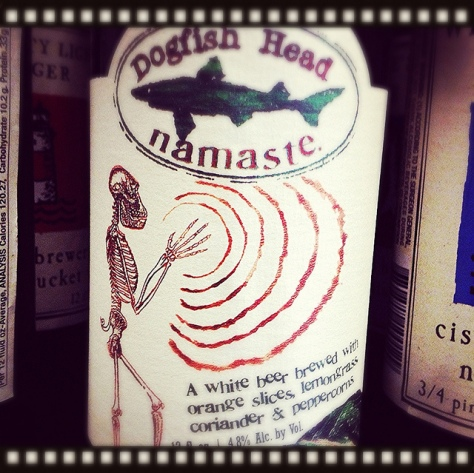 Обзор пива. Dogfish Head Namaste.