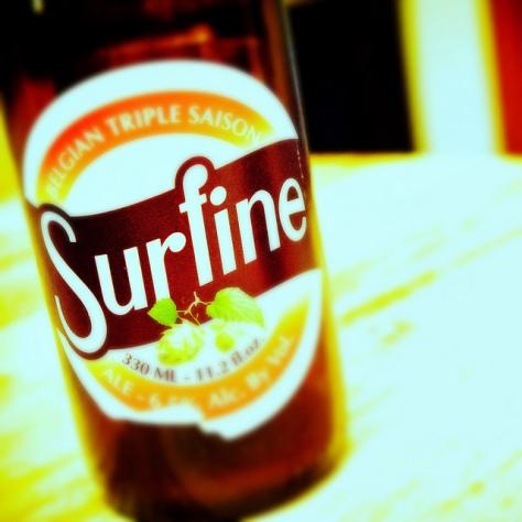 Обзор пива. Dubuisson Surfine.