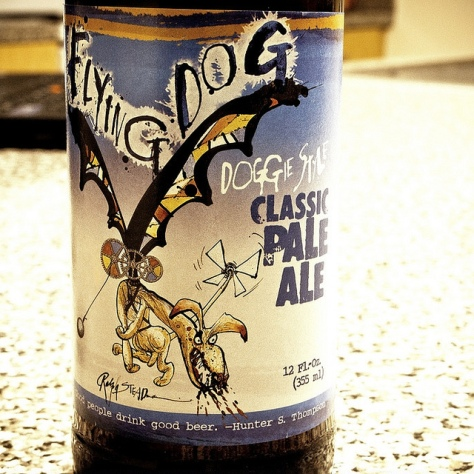 Обзор пива. Flying Dog Doggie Style.