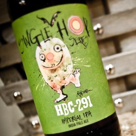 Обзор пива. Flying Dog HBC-291.