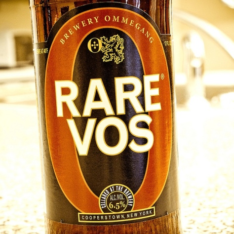 Обзор пива. Ommegang Rare Vos.