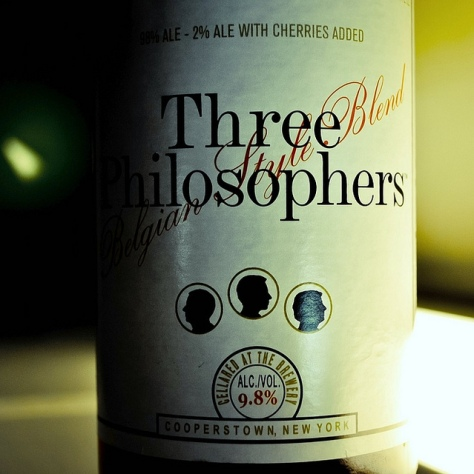 Обзор пива. Ommegang Three Philosophers.