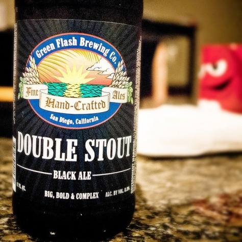 Обзор пива. Green Flash Double Stout.