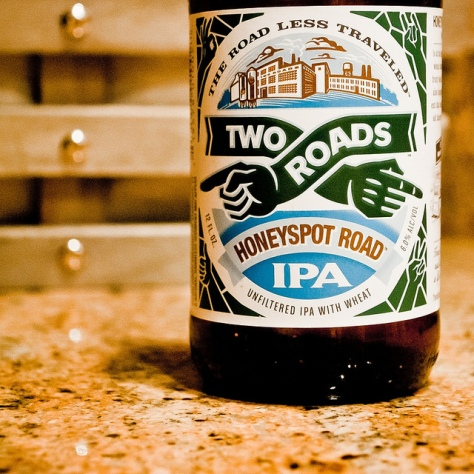 Обзор пива. Two Roads Honeyspot Road IPA.