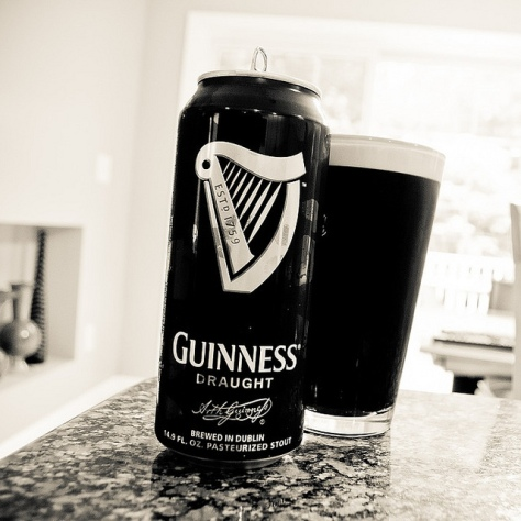 Обзор пива. Guinness Draught.