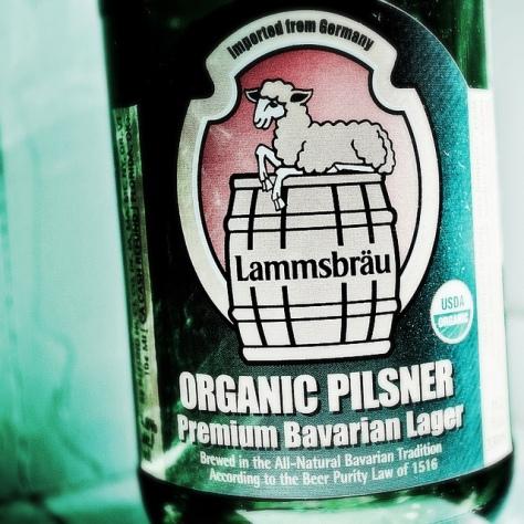 Обзор пива. Neumarkter Lammsbräu Organic Pilsner.
