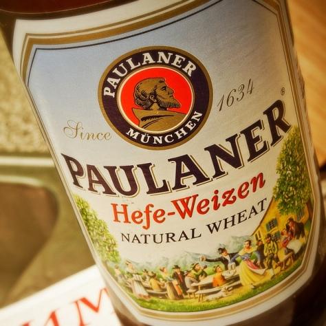 Обзор пива. Paulaner Hefe-Weizen.