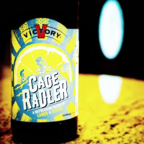 Обзор пива. Victory Cage Radler.