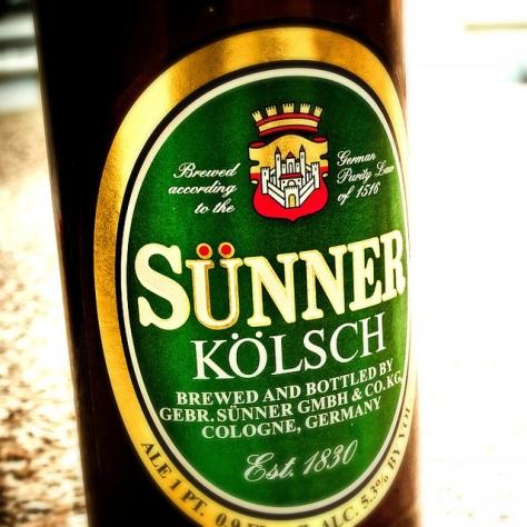 Об интересном сорте. Кёльш. Kölsch. Sünner Kölsch. Обзор пива.