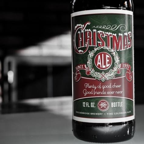 Обзор пива. Breckenridge Christmas Ale.