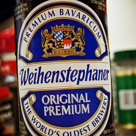 Обзор пива. Weihenstephaner Original.