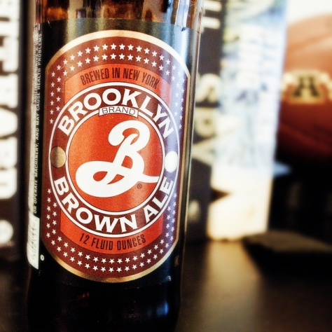 Обзор пива. Brooklyn Brown Ale.