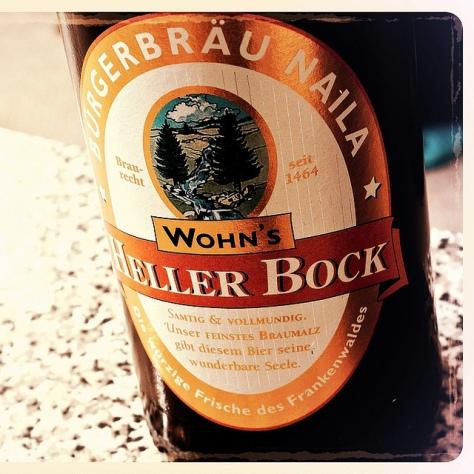 Обзор пива. Wohn's Heller Bock.
