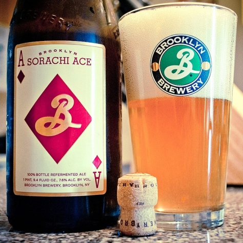 Обзор пива. Brooklyn Sorachi Ace.