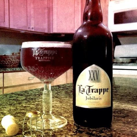 Обзор пива. La Trappe Jubilaris.