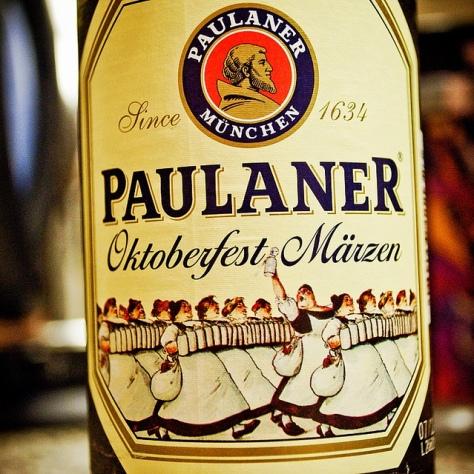 Обзор пива. Paulaner Oktoberfest-Märzen.